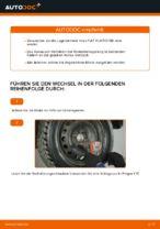 Wie Sie das hintere Radnaabenlager am FIAT PUNTO 188 ersetzen
