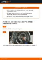 Wie Sie die hintere Aufhängung der Stoßdämpfer am FIAT PUNTO 188 ersetzen