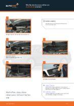 Wie Sie den Innenraumfilter am AUDI A4 В5 ersetzen
