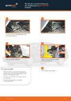 Wie Sie die vordere Aufhängung der Stoßdämpfer am AUDI A4 В5 ersetzen