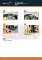 Wie Sie die hinteren Fahrwerksfedern am AUDI A4 В5 ersetzen