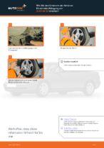 Wie Sie den Unterarm der hinteren Einzelradaufhängung am AUDI A4 В5 ersetzen