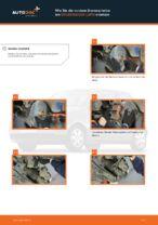 Einbau von Scheibenbremsen beim VW LUPO (6X1, 6E1) - Schritt für Schritt Anweisung