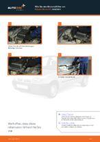 Austauschen von Motorluftfilter Anweisung PDF für NISSAN MICRA