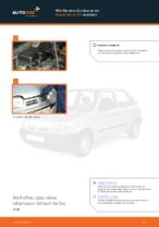 Austauschen von Zündkerzensatz Anweisung PDF für NISSAN MICRA