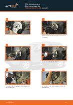 Radlagersatz vorne rechts links auswechseln: Online-Handbuch für HYUNDAI SANTA FE