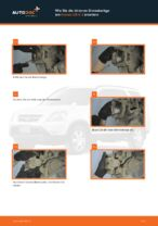 HONDA Bremsbelagsatz hinten + vorne selber austauschen - Online-Bedienungsanleitung PDF