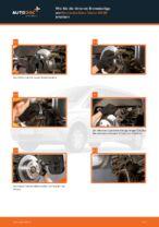 Wie Bremsklötze MERCEDES-BENZ VIANO wechseln und einstellen: PDF-Leitfaden
