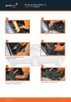 Wie Sie den Motorluftfilter am Audi A4 В7 ersetzen