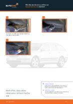 Ratschläge des Automechanikers zum Austausch von SKODA Octavia 1z5 1.6 TDI Bremsbeläge