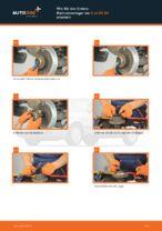 Radlagersatz vorne rechts links auswechseln: Online-Handbuch für AUDI 80