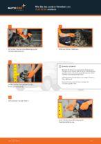 Austauschen von Stützlager Anweisung PDF für AUDI 80