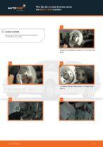 Wie Sie die vordere Bremsscheibe am BMW 3 E36 ersetzen