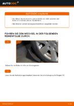 Wie Sie den Unterarm der vorderen Einzelradaufhängung am Volkswagen Golf V (1K) ersetzen