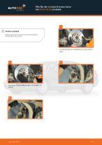 Installation von Scheibenbremsen AUDI A4 (8D2, B5) - Schritt für Schritt Handbuch