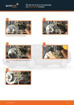 Wie Sie die hinteren Bremsbeläge am AUDI A4 В5 ersetzen