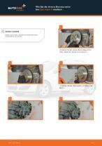 Scheibenbremsen gelocht wechseln: Online-Anweisung für OPEL ASTRA