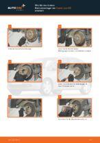 Radlagersatz vorne rechts links wechseln: Online-Anweisung für HONDA JAZZ