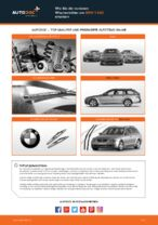 Wie Sie die vorderen Wischerblätter am BMW 5 E60 ersetzen