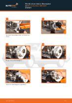 MERCEDES-BENZ 190 (W201) Bremssattel: PDF-Anleitung zur Erneuerung