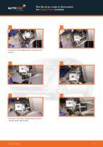 TOYOTA-Reparaturanweisung mit Illustrationen