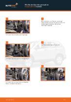 Verschleißanzeige Bremsbeläge auswechseln HONDA CR-V: Werkstatthandbuch