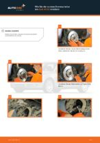 Wie Sie die vordere Bremsscheibe am Audi A4 В7 ersetzen