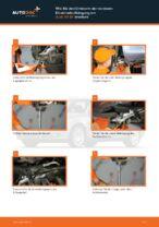 Wie Sie den Unterarm der vorderen Einzelradaufhängung am Audi A4 В7 ersetzen