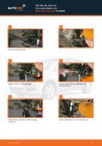 Schraubenfeder vorne links rechts wechseln: Online-Anweisung für MITSUBISHI COLT