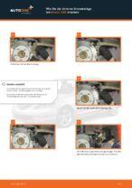 Hochwertige Kfz-Reparaturanweisung für Keramik Bremsbelagsatz Scheibenbremse MAZDA