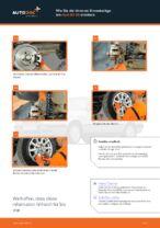 Wie wechselt man Bremshalter hinten links rechts beim AUDI 80 (8C, B4)