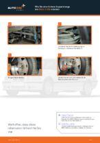 Wie Sie eine hintere Koppelstange am BMW 3 E36 ersetzen