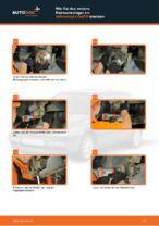Wie Sie das vordere Radnaabenlager am Volkswagen Golf III ersetzen