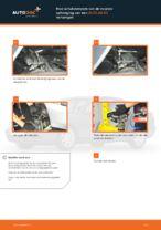 Hoe schokdempers van de voorste ophanging van een AUDI A4 В5 vervangen