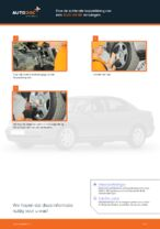 Hoe de achterste koppelstang van een AUDI A4 В5 vervangen