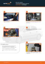 Hoe de voorste veerpootbevestiging van een Opel Astra G vervangen
