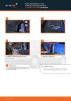 Montage Veerpoten VW LUPO (6X1, 6E1) - stap-voor-stap handleidingen