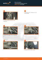 Hoe de voorste veerpootbevestiging van een BMW 5 E60 vervangen