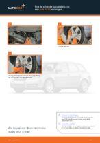 Hoe de achterste koppelstang van een Audi A4 В7 vervangen
