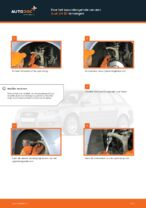 Hoe het spoorstangeinde van een Audi A4 В7 vervangen