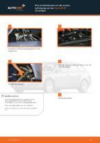 Hoe schokdempers van de voorste ophanging van een Audi A4 В7 vervangen