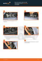 Hoe de voorste veren van de ophanging van een Audi A4 В7 vervangen