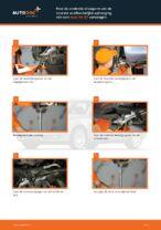 Hoe de onderste draagarm van de voorste onafhankelijke ophanging van een Audi A4 В7 vervangen