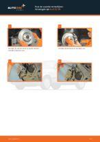 Achteras Rubbers veranderen AUDI 80: werkplaatshandboek