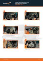 Hoe de voorste remblokken van schijfremmen vervangen op Volkswagen Golf III