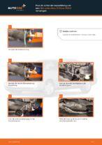 Hoe de achterste koppelstang van een Mercedes-Benz C-Class W202 vervangen