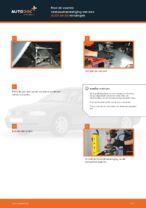 Hoe de voorste veerpootbevestiging van een AUDI A4 В5 vervangen