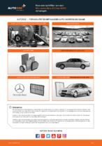 Hoe een luchtfilter van een Mercedes-Benz E-Class W210 vervangen
