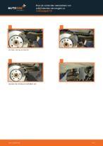 Remblokset VW TRANSPORTER V Platform/Chassis (7JD, 7JE, 7JL, 7JY, 7JZ, 7FD monteren - stap-voor-stap tutorial