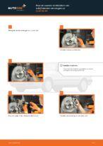 Remblokken vervangen AUDI 80: werkplaatshandboek